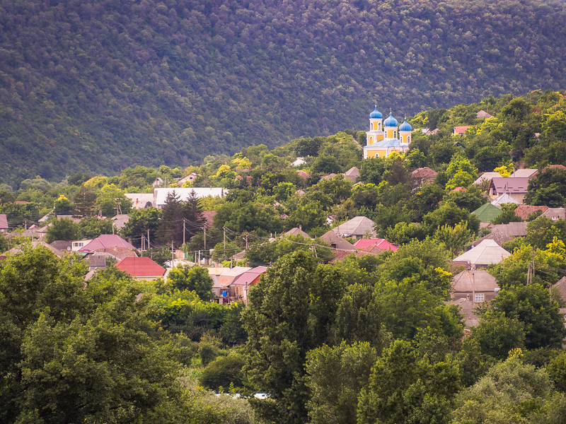 The Village of Trebujeni, Moldova