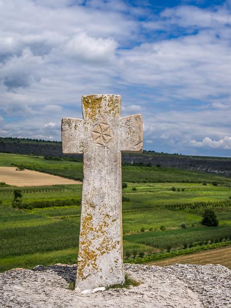 Ancient Cross, Orheiul Vechi, Moldova