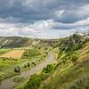 Approaching Orheiul Vechi, Moldova
