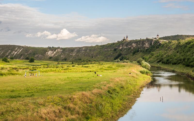 Peaceful Fields at Orheiul Vechi, Moldova
