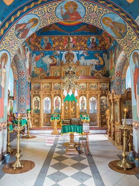 The Church Interior, Orheiul Vechi, Moldova