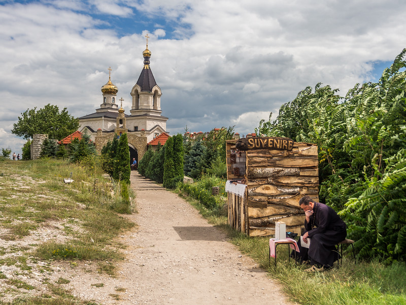 Outside the Monastery, Orheiul Vechi, Moldova