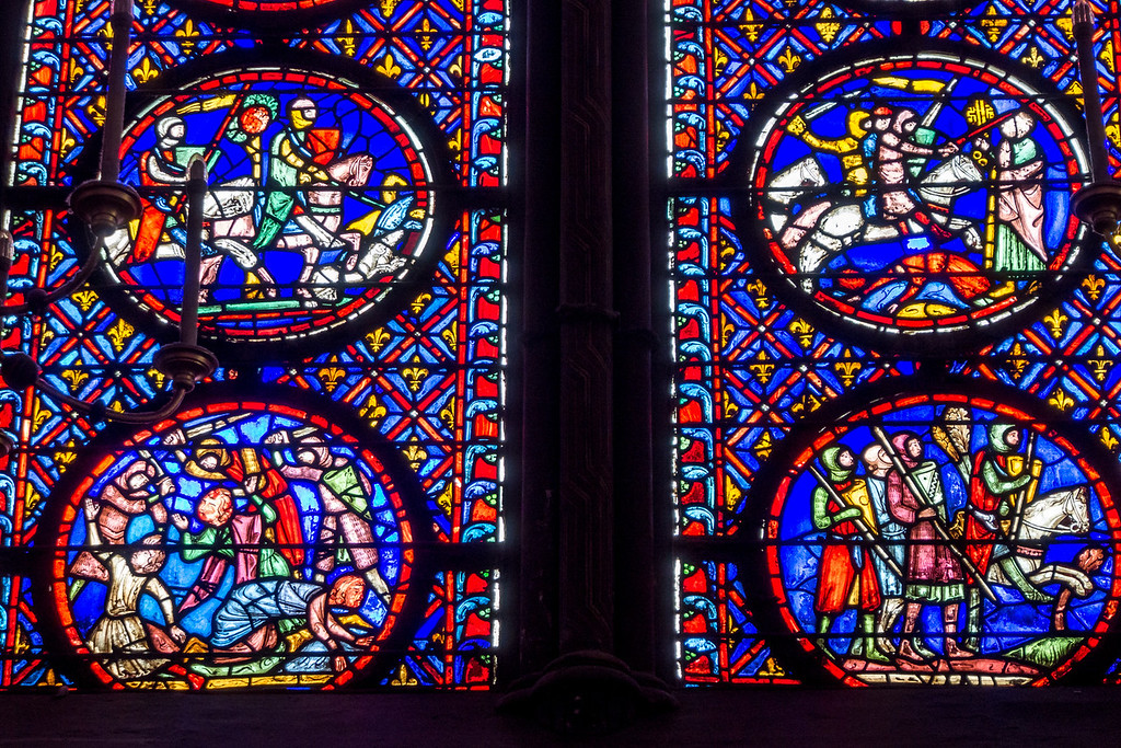 Knights of the Window, Sainte-Chappelle, Paris
