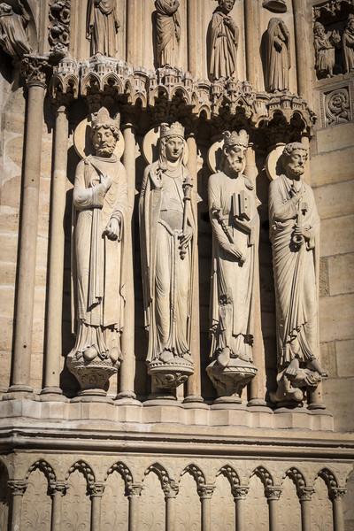 Portal Sentinals, Notre Dame, Paris