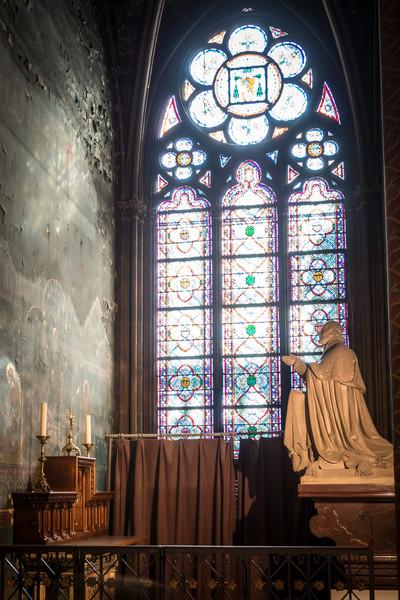 Penitence in Stone, Notre Dame, Paris