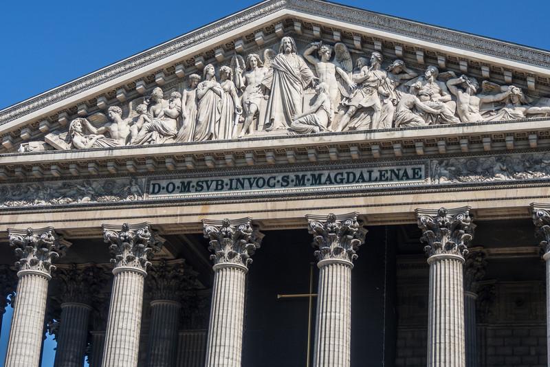 L'eglise de la Madeleine, Paris