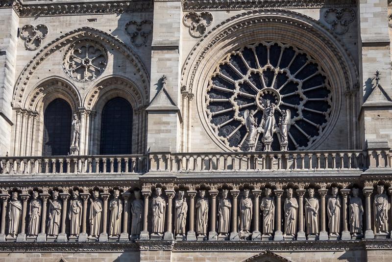 Saints of Notre Dame, Paris