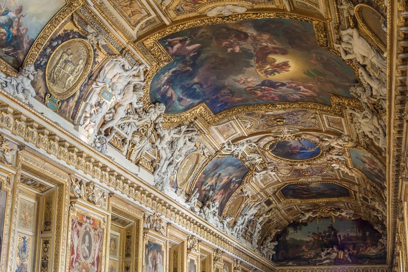Frescoed Ceiling, Louvre, Paris