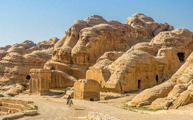On the Road to Petra, Jordan