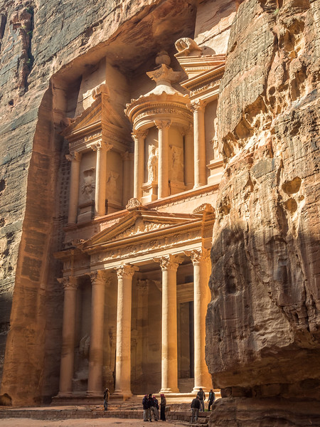 The Treasury in Profile, Petra