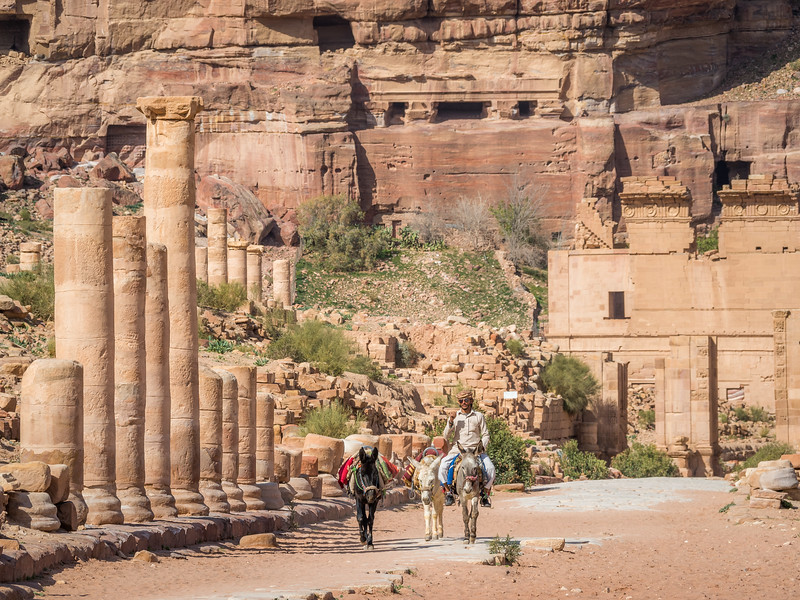 On the Street of Columns, Petra