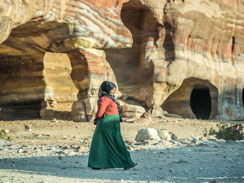 Bedouin Woman, Petra