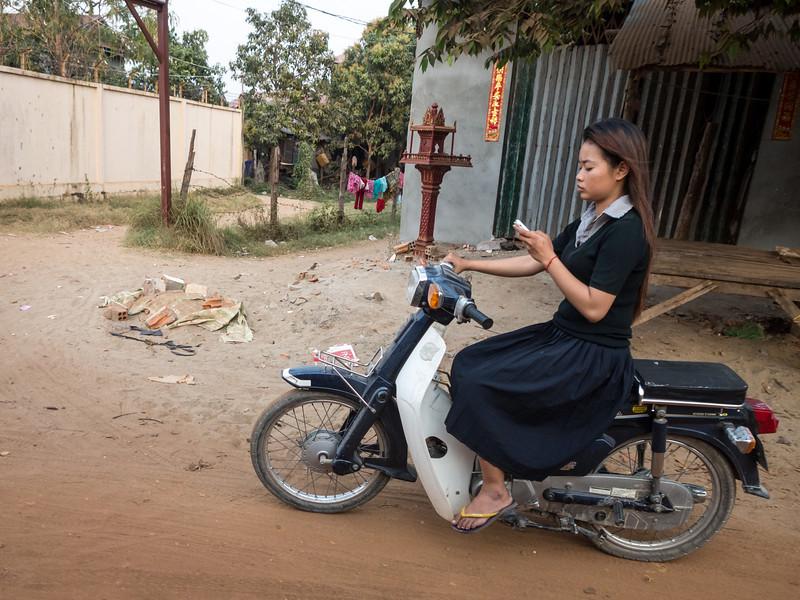 Texting and Driving, Phnom Penh