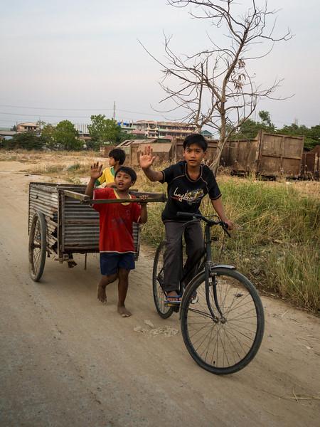 Bike Kids, Phnom Penh