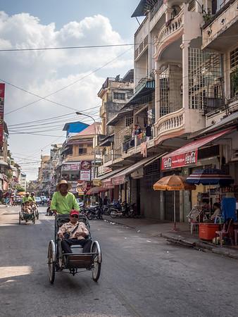 Rickshaw Ride, Phnom Penh