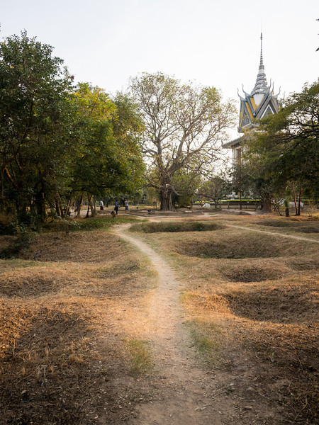 Grave Pits, Killing Fields, Choeung Ek