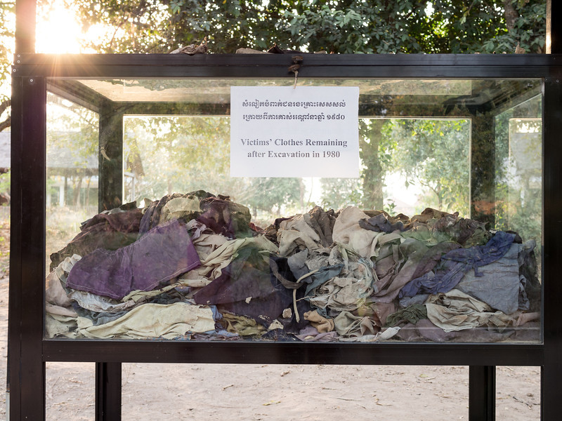 Clothes of the Dead, Killing Fields, Choeung Ek