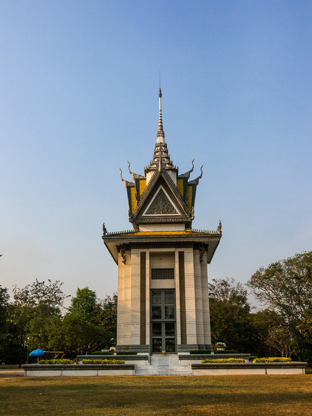 Memorial Stupa, Killing Fields, Choeung Ek