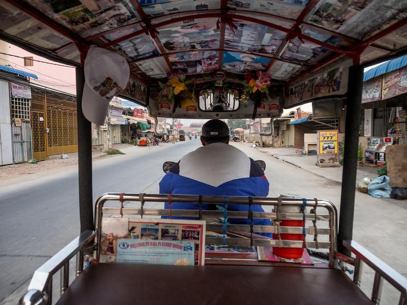 Tuk Tuk Ride, Phnom Penh