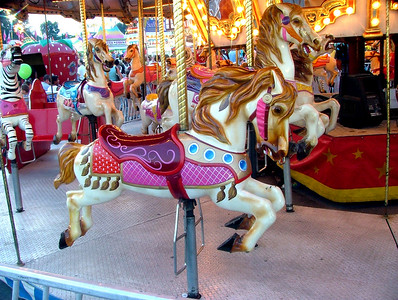 Indiana State Fair Merry-Go-Round horse