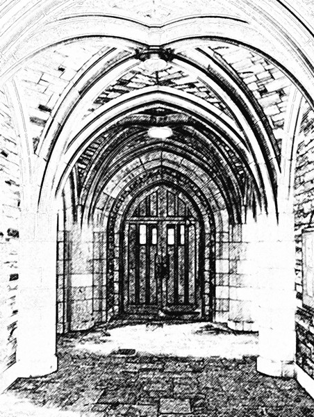 Hallowed Arches Sketch