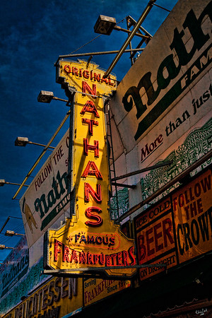 Nathan's Famous Frankfurters