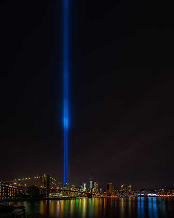 The Lights From Brooklyn Bridge Park