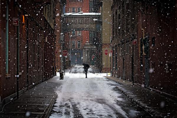 Staple Street Snow Day