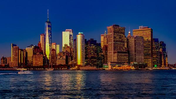 Blur Hour Cityscape