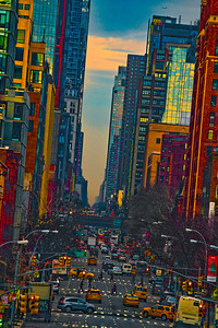 Evening On Tenth Avenue