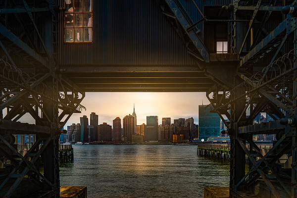 Gantry Park Sunset