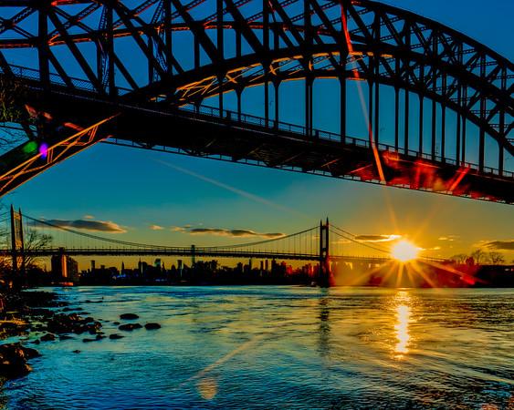 Kennedy Bridge Sunset