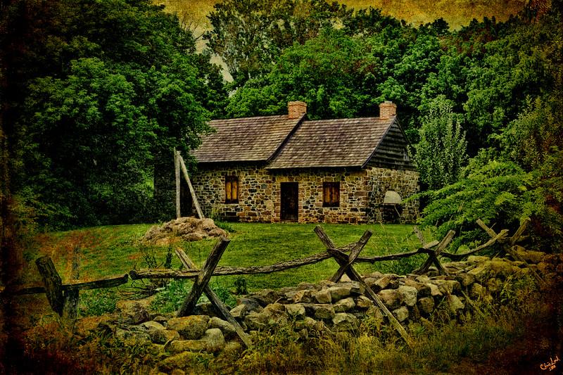 A Rural Dwelling, Richmond, Staten Island, New York