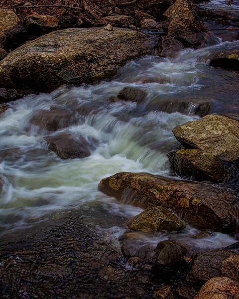 Mountain Stream, Cold Springs, New York