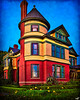 The House on the Corner, A Gingerbread House in San Diego, California