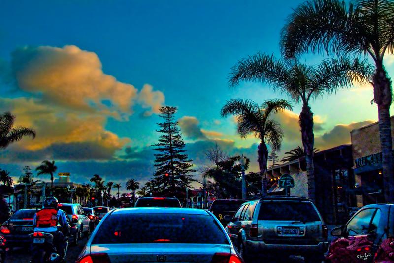 Stuck In California Traffic, San Diego