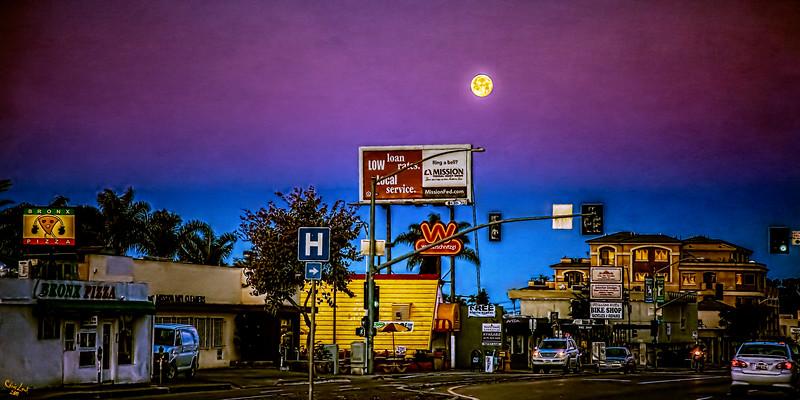 Dawn In Mission Hills, San Diego