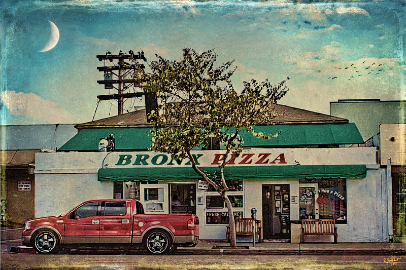 Bronx Pizza, California Style