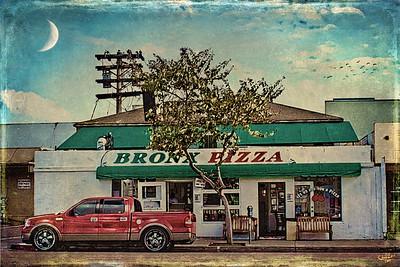 Bronx Pizza, California Style