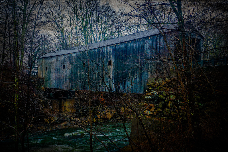 Covered Bridge in Kent