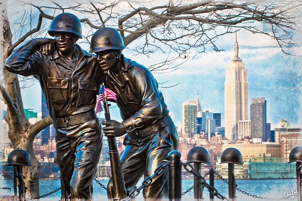 Hoboken Waterfront War Memorial