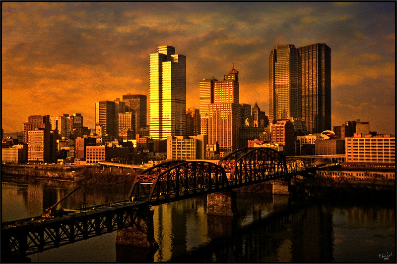 Pittsburgh at Sundown