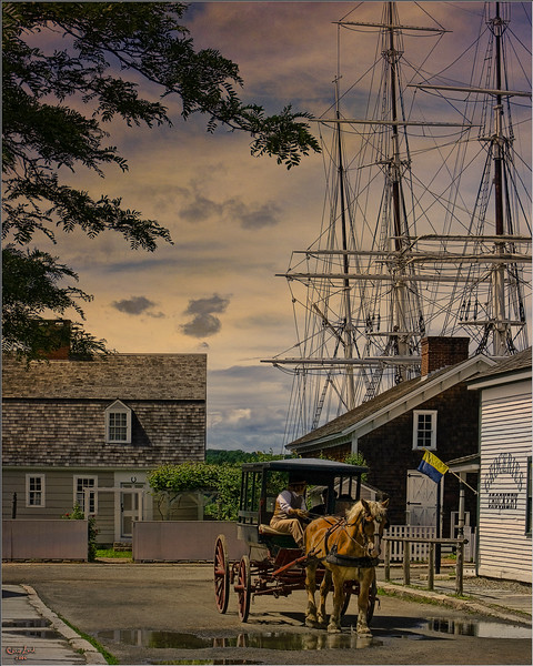 An Evening In Mystic, Connecticut, Version One