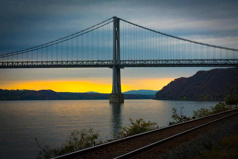 Mid Hudson Bridge & Railroad Tracks