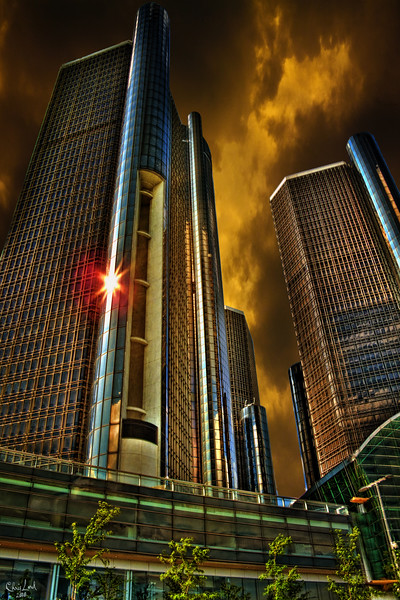 Detroit's GM Buildings