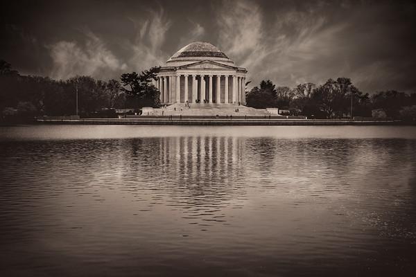 Memorial In Monochrome