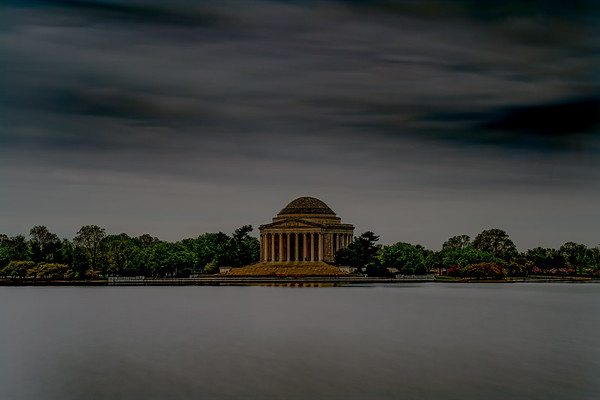 Dark Day At The Jefferson Memorial