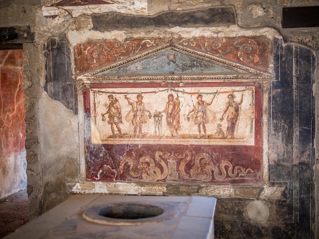 Advertisement, Pompeii, Italy