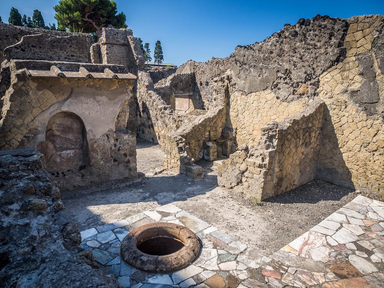 Ruins of a Restaurant, Herculaneum