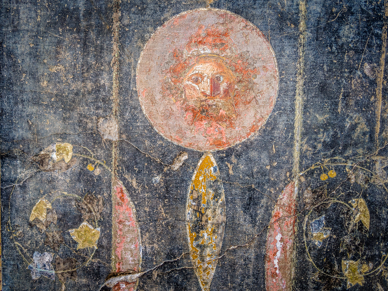 Face in the Fresco, Pompeii